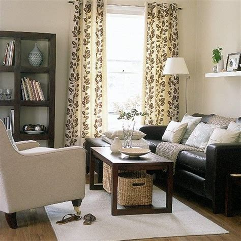 brown living room decor relaxed modern living room brown leather decorating