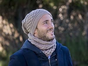Kit Tricot Bonnet Et Snood Free Style Pour Homme
