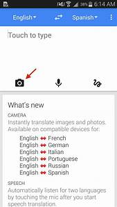 Translate foreign text live in real time using your for Translate my document to spanish