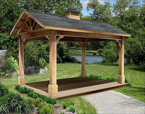 red cedar gable roof ramadas ramadas  material