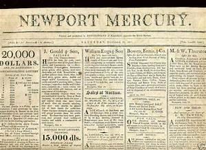 Newspaper Headline Template War 1812 My Voice Is Still For War The Newport Mercury