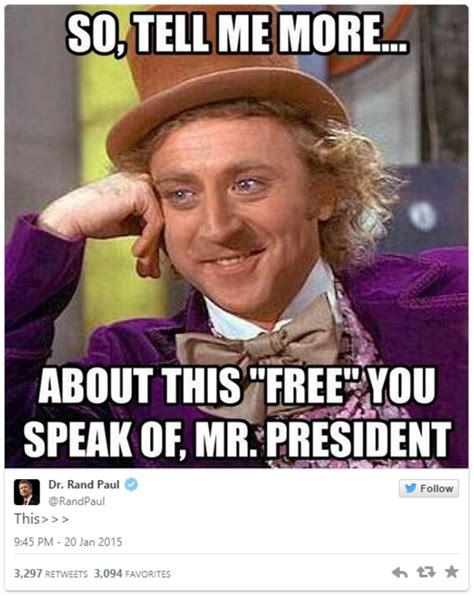 Rand Paul Memes - condescending wonka rand paul know your meme