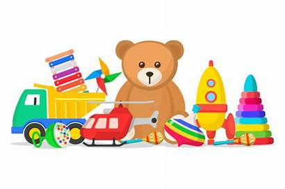 Toy Clip Children Toys Clipart Vector Story