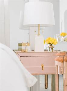 Rose Gold Decor : peek inside my new bedroom ~ Teatrodelosmanantiales.com Idées de Décoration