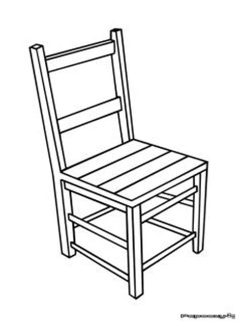 dessin de chaise en perspective mobilier table dessin d une chaise