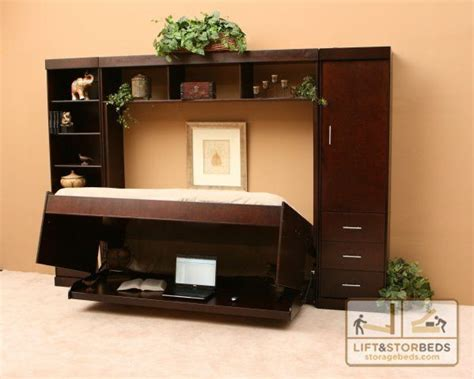 wall bed with desk increase productivity with a wall bed desk lift stor beds