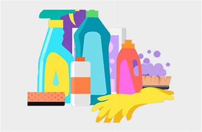 Clipart Chemicals Goods Cliparts Household Consumer Jing
