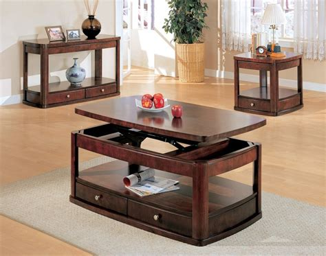 furniture outlet lift top storage coffee table