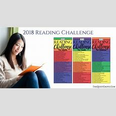 2018 Reading Challenge (with Free Printables For Adults, Youth, And Kids!) ⋆ The Quiet Grove