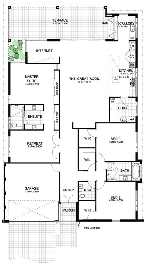 floor plan friday  bedroom great room  perfect entertaining area modern floor plans