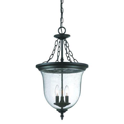 lantern light fixture acclaim lighting collection 3 light matte black