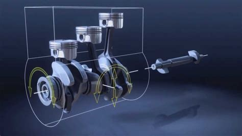 Bmw 1.5 Liter 3 Cylinder Twinpower Turbo Engine Animation