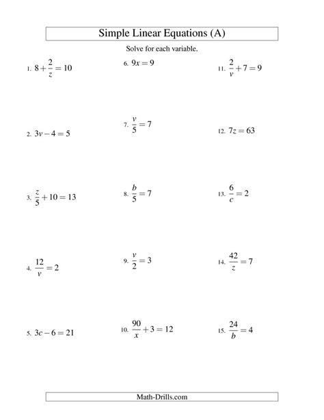 new standard form of linear equation worksheet goodsnyc