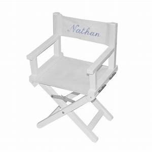 Fauteuil Enfant Personnalisable : chaise de metteur en sc ne enfant kid chaise cin ma chaise star chaise enfant chaise ~ Melissatoandfro.com Idées de Décoration