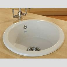 Insetundermount Round Kitchen Sink  Shaws Of Darwen