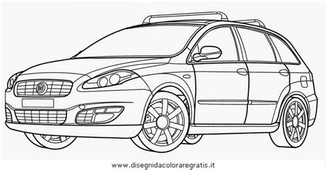 Fiat Panda Kleurplaat by Disegno Fiat Croma Categoria Mezzi Trasporto Da Colorare