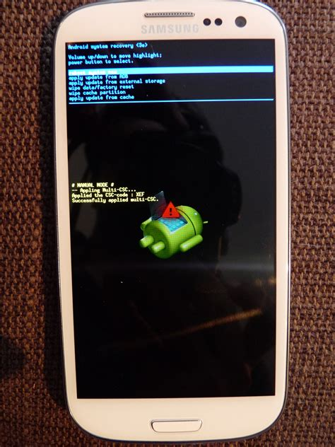Android Recovery Android Recovery Mode Azitech