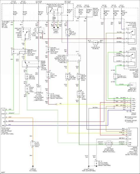 Toyotum Trailer Wiring Diagram by Exterior Lights Toyota Sequoia 2004 Repair Toyota