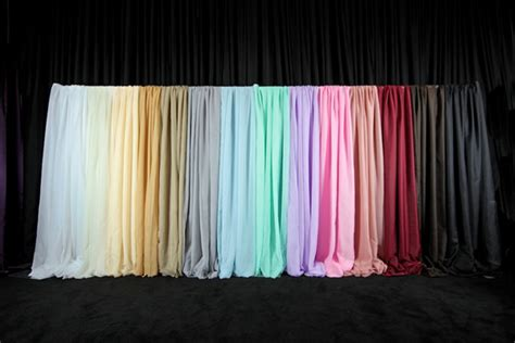 *fr* 10ft Wide X 10ft Long Sheer Voile Curtain Panel W/ 4