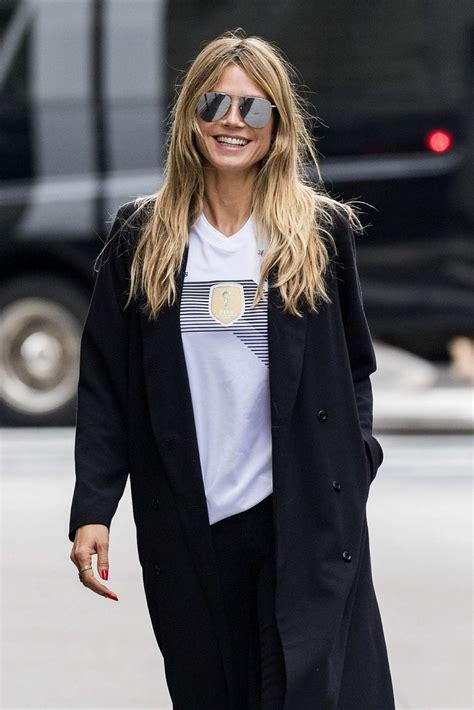 Heidi Klum Street Fashion New York City