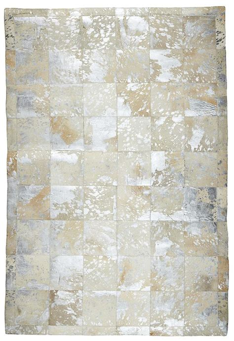 cowhide store artisan patched cowhide rug cp009