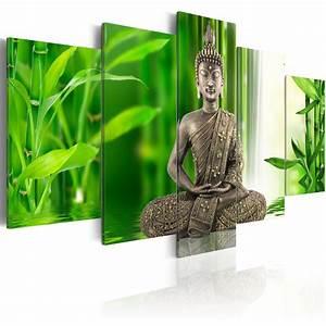 Bilder Xxl Leinwand : leinwand bilder xxl kunstdruck wandbild buddha zen natur bambus 051426 ebay ~ Frokenaadalensverden.com Haus und Dekorationen