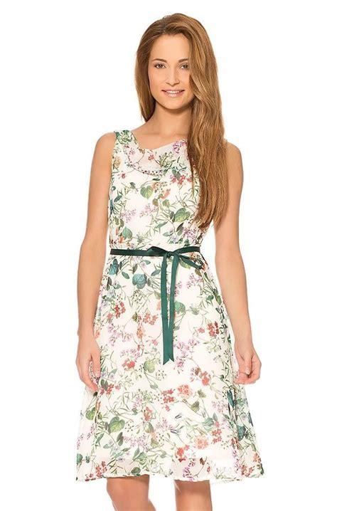orsay kleider kleid mit blumen print fashion