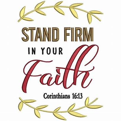 Faith Bible Firm Verse Stand Embroidery Machine
