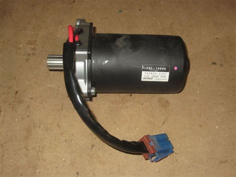 denso electric motor 12 v power steering motor gm 995 10800 160800 0261 oem ebay