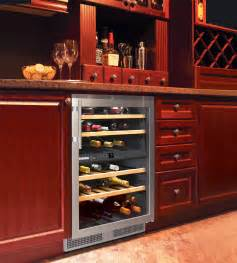In Cabinet Refrigerator by Built In And Freestanding Liebherr Wine Coolers The