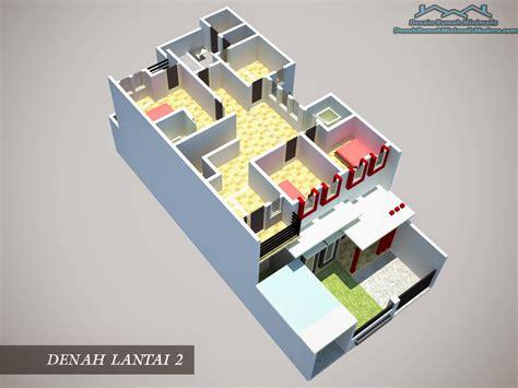desain rumah minimalis  lantai  kamar tidur model