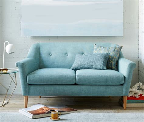 Settees For Small Rooms by Small Sofas Sectionals West Elm