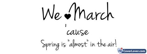 We Love March - cover photos for Facebook - Facebook cover ...