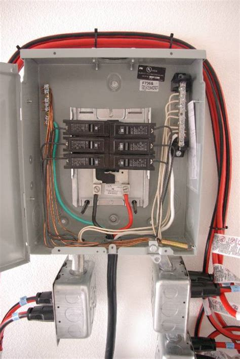 Removable Sub Panel Electrical Questions