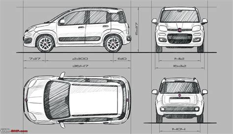 Fiat Dimensions by Fiat Panda Hatchback 1 3 Multijet Page 2 Team Bhp