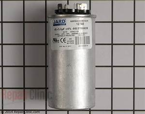 Lennox Air Conditioner Condensing Unit Run Capacitor  89m80