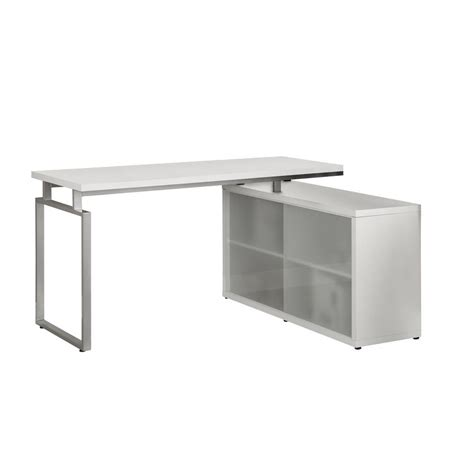 Glass Corner Desk Office Depot by Monarch Specialties Computer Desk White Corner With
