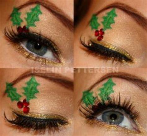 stylishly festive christmas makeup ideas diy crafts