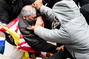 Man beaten with an American flag (Video) | New York Post