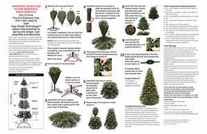634276 9ft Easy Shape Prelit Tree Instructions 3 13 Ai