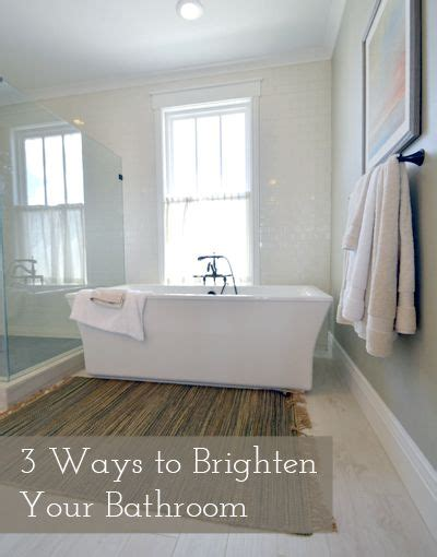3 ways to brighten a bathroom bathroom remodeling home improvements and window