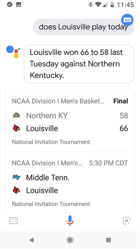 How To Get March Madness Scores With Google Assistant