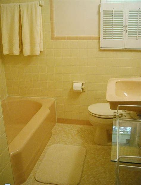 bathroom floor tile ideas retro 33 vintage yellow bathroom tile ideas and pictures