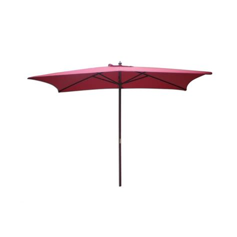 9 rectangular market umbrella wood pole furniture