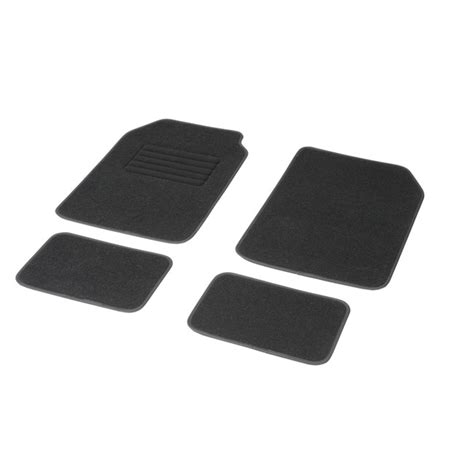 tapis de sol norauto 4 tapis voiture universels moquette dbs noirs norauto fr
