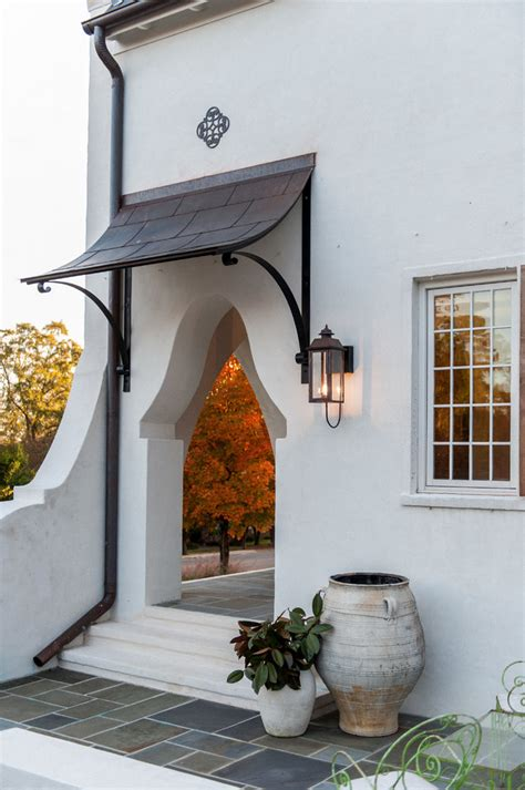 Entry Door Awning by Beautifully Artistic Front Door Canopy Decohoms