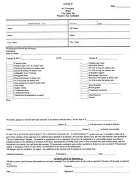 Free Landscaping Estimate Forms | Request a Free Sample of