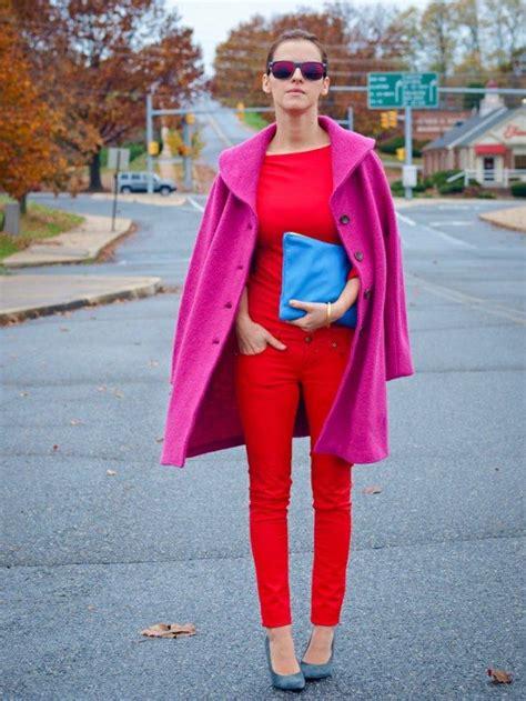 Rosa Und Rot Kombinieren by Rot Und Pink Kombinieren Streetstyle Styling Ideen
