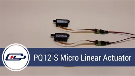 pq12 s micro linear actuator product overview