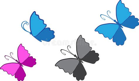 clipart farfalla clipart della farfalla illustrazione vettoriale
